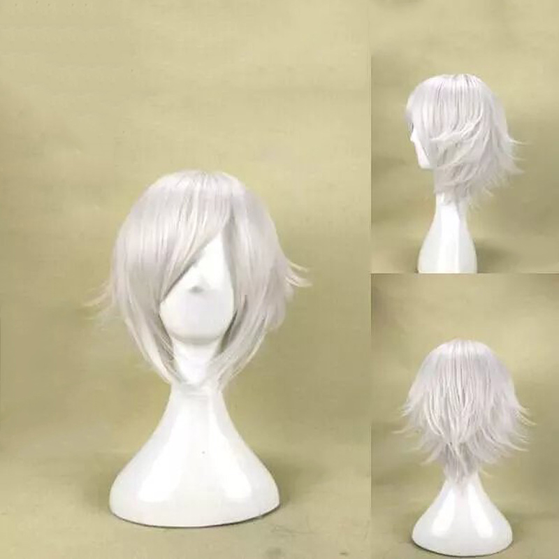 HAIRJOY Synthetic Hair Wigs Short Straight Cosplay Wig  13 Colors Available Freeshipping 51