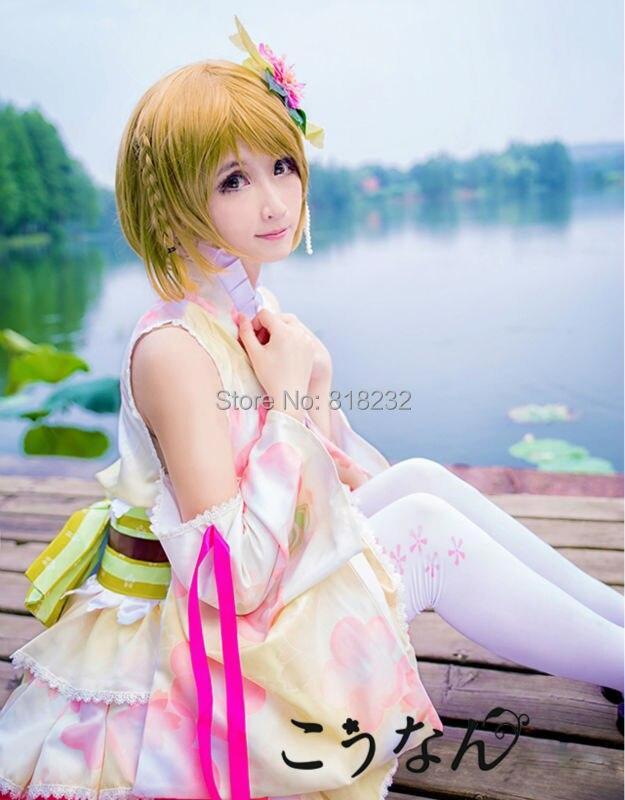 8880811e8a1b Lovelive! love live koizumi hanayo yukata kimono dress uniform outfit anime  cosplay costumes