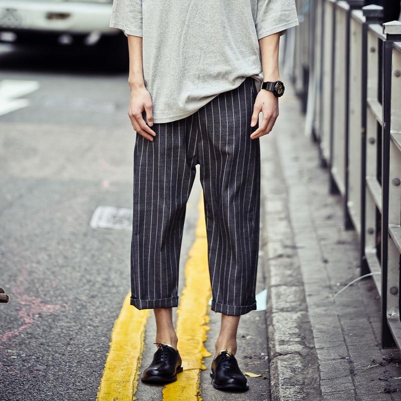 Online Shop Major suit European style wide leg pants men's new ...