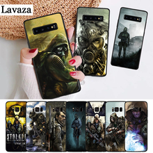 Lavaza stalker clear sky Luxury High-end Silicone Case for Samsung S6 Edge S7 S8 Plus S9 S10 S10e Note 8 9 M10 M20 M30 стоимость