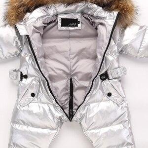 Image 5 - Combinaison dhiver pour bébés, nouveau né, vêtements chauds pour bébés, combinaison de neige pour tout petits, combinaison dhiver pour garçons, 803