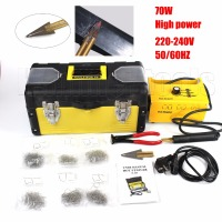 Free Shipping Hot Stapler Plastic Welding Machine Plastic Repair Kit Plastic Welder Staple