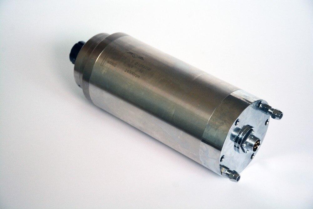 5.5kw broche refroidie à l'eau CNC broche haute qualité 5.5 KW broche moteur ER-25 Watre-refroidissement, moteur de broche pour CNC