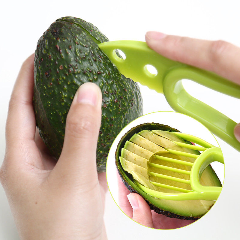 Knife Kitchen Cutter Vegetable-Tools Avocado-Slicer Fruit Peeler Home-Accessory Plastic