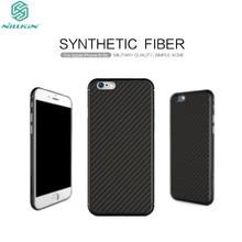 Для iPhone 6 (4.7 дюймов) чехол Nillkin Synthetic Fiber чехол розничной пакет Бесплатная доставка pp Назад Shell для iPhone 6S