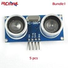 5/10 шт. RCmall HC-SR04 ультразвуковой датчик измерения расстояния модуль для Arduino PICAXE микроконтроллер FZ0056* 5/* 10 DIYmall