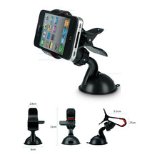 Universal Car Styling Windshield Bracket Mount Phone Holder Stands For iPhone 4 5 5s 6 6s Plus For Samsung Smartphone GPS