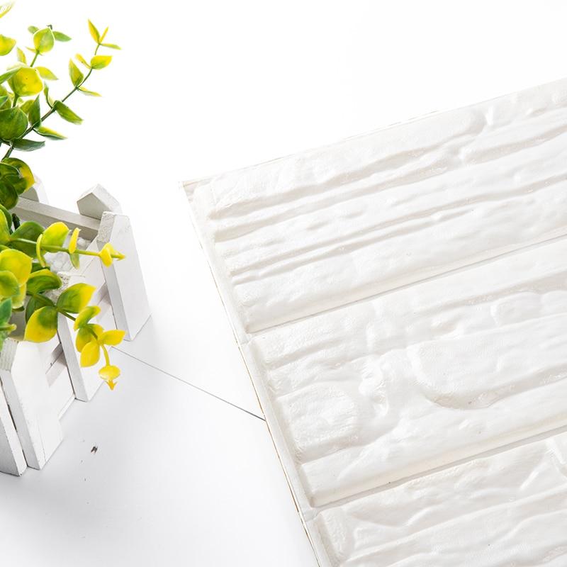 3D Brick Wallpaper PE Foam Wallpaper Self Adhesive Panels
