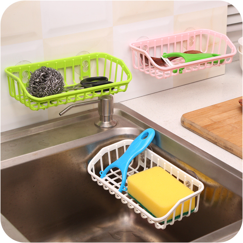 Kitchen Sink Drain Rack Enipate sucker kitchen sink draining racks multifunctional storage enipate sucker kitchen sink draining racks multifunctional storage rack sponge for washing utensils storage racks random color in storage boxes bins from workwithnaturefo