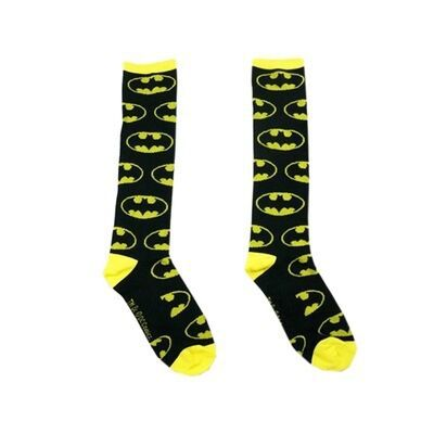 Batman Socks Men And Women Cotton Tube Socks Personality Hipster Fashion Knee Socks Four Seasons Universal