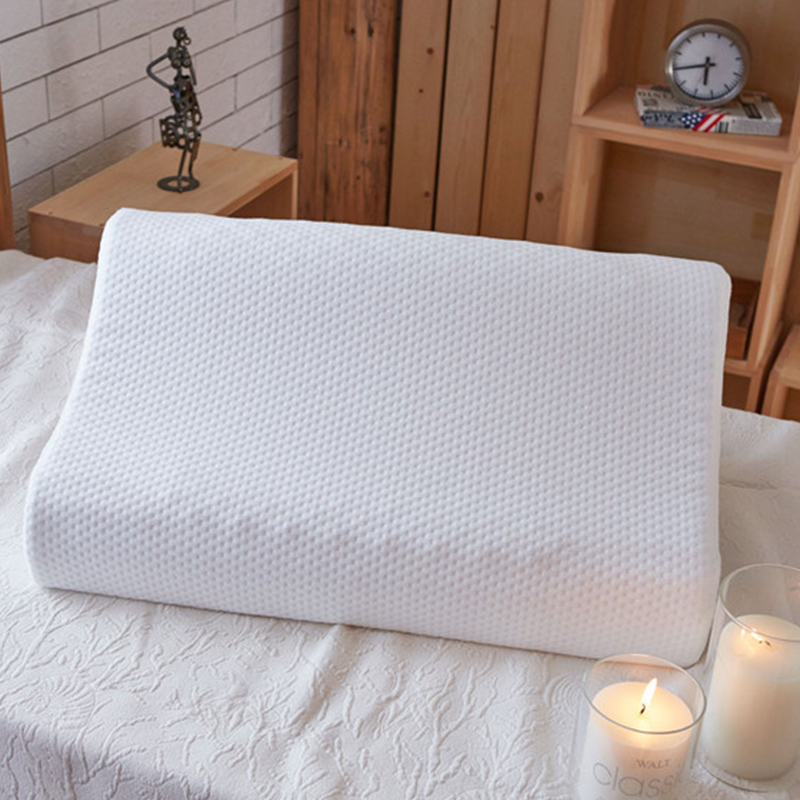 Thailand Imported 100 Natural Latex Pillow Large Particles Massage Cervical Spine Health Head Neck Care Memory Foam Pillow in Massage Pillows from Home Garden