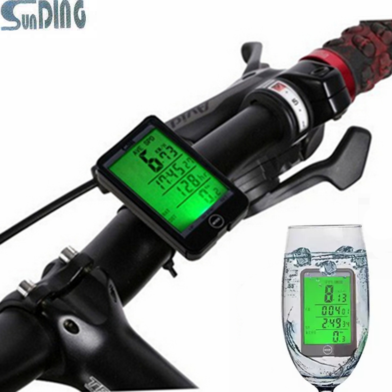 New products Sunding 29 Functions Water resistant Wireless Cycling font b Bike b font Bicycle Computer