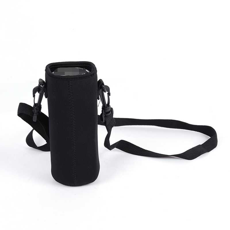 500/750/1000/1500ml Portable Neoprene Thermos Bag with Rope Water Bottle Insulated Cup Bags