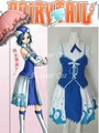 Juvia Loxar from Fairy Tail Anime Cosplay Costume - Costume made in Any Size
