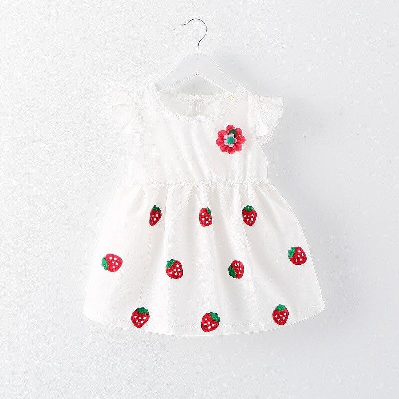 a58b4bf3a9ee Melario Baby Dresses 2018 New Summer Korean version Strawberry ...