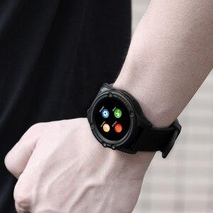 Image 5 - Schleimiges Smart Uhr Telefon SW18 Uhr SIM Push Nachricht Antwort Zifferblatt Call Bluetooth Berechnung Für Android Telefon PK Q18 Smart uhr