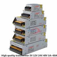 LED Lighting Switching Power Supply AC 110V-220V Power Adapter 5V 12V 24V 48V For Strip lights surveillance video 1 Amp - 60 Amp