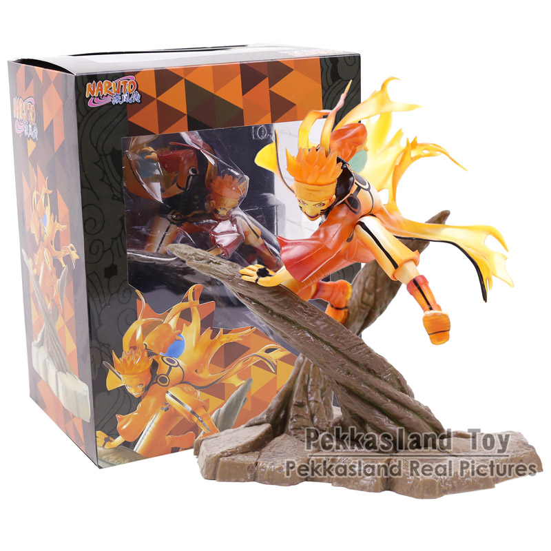 все цены на Naruto Shippuden Uzumaki Naruto Rikudou Sennin Mode PVC Figure Collectible Model Toy