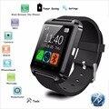 Marca bluetooth smart watch anroid telefone smartwatch pedômetro pulso da tela de toque à prova d' água