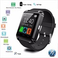 Marca bluetooth smart watch smartwatch podómetro de muñeca a prueba de agua teléfono de pantalla táctil anroid