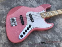 New releases China firehawk electric bass guitar BASS Guitar The pink metal particles, free shipping
