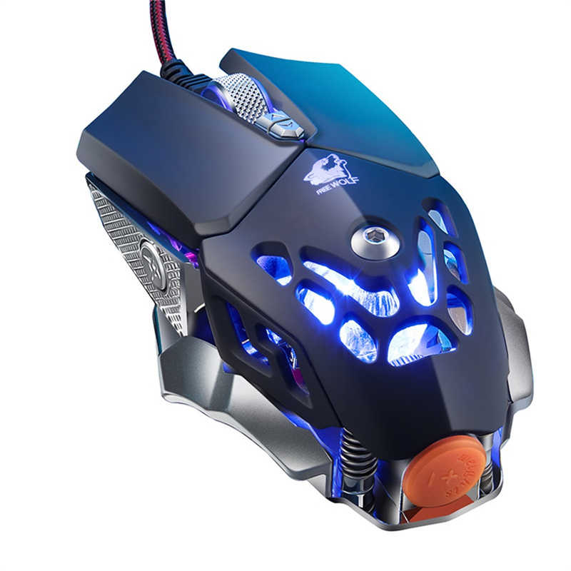 Mouse Raton Ordenador Wired Backlight USB Programming Gaming Mice Mouse Professional Mice For PC Laptop Computer Mouse 19Mar11
