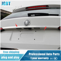 JGRT Car Styling For Skoda Kodiaq 2017 Model High Quality Stainless Steel Lower Rear LOGO Trim