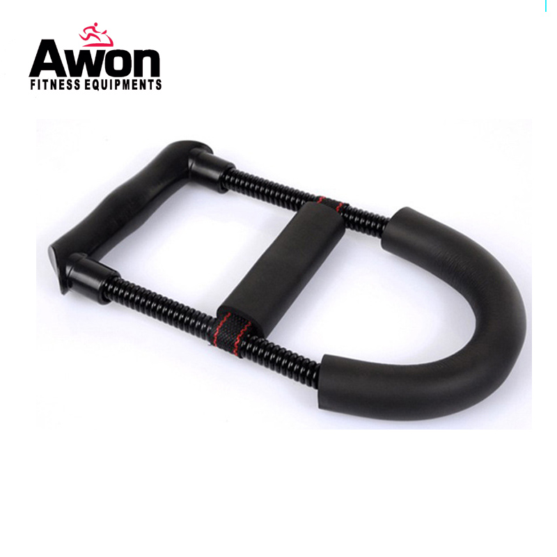 Домашнее оборудование для фитнеса силовой тренажер для запястья наборы мисок стальная пружина Тяжелая рукоятка тренировочные инструменты...