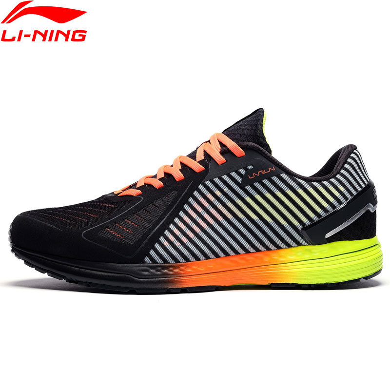 Li-Ning Men MID RACING SHOES Professional Running Shoes Marathon Light LiNing Li Ning CLOUD Sport Shoes Sneakers ARBN235 XYP855