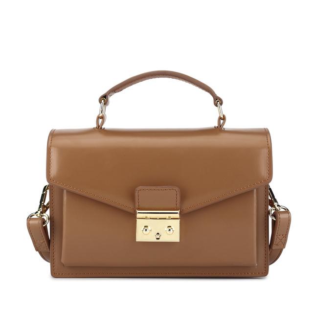 BISON DENIM Leather Women Handbag Luxury Handbags Women Bags Designer Vintage Satchels Female Shoulder Bag bolsa feminina N1398