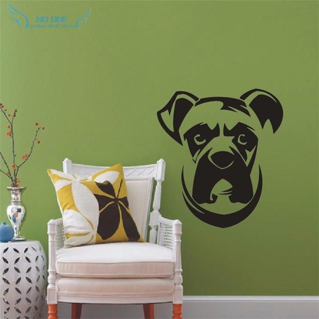 Boxer Dog Wall Decals Vinyl Sticker Kids Wall Sticker Household ...