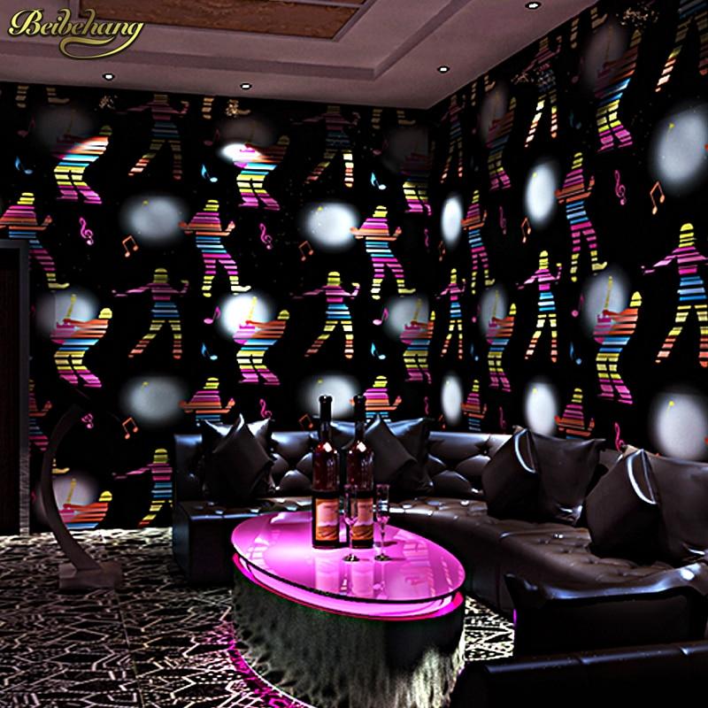 Beibehang fond d'écran or/papier peint feuille d'or et d'argent de haute qualité/papier peint rouge/papier peint floral de mode - 3