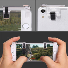 New Phone Mobile Gaming Trigger Fire Button Handle for L1R1 Shooter Controller PUBG 180406 drop shipping