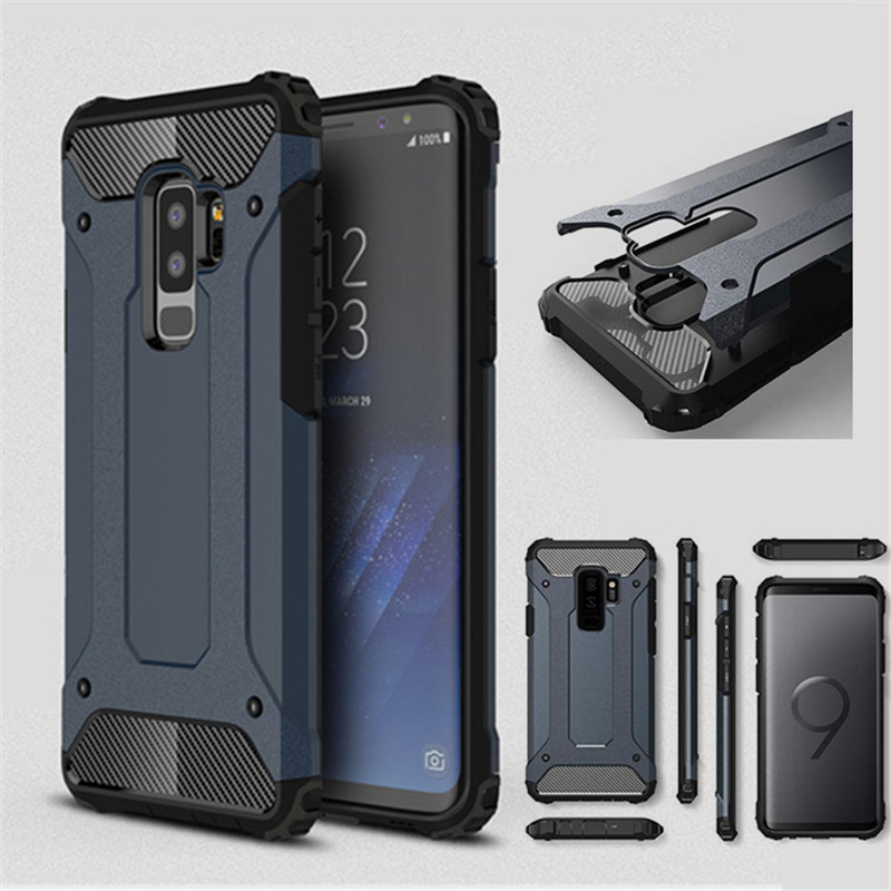 For Samsung Galaxy S10E S6 S7 edge S8 S9 Plus Note 4 5 8 9 Shockproof Armor Silicone Case A6 A8 Plus J4 J6 J8 2018 Rubber Cover image