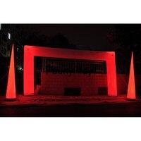 Надувные арки со светодиодной подсветкой, надувные входную арку, надувные Отделка линии, надувные арки для свадьбы, события