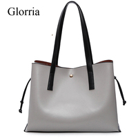 High Quality Leather Women Shoudler Bag Lager Capacity Female Handbag Fashion Luxury Lady Tote Bag Hot