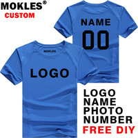DIY t shirt free custom made name number print word test color logo image photo tailor made t shirt commission team img clothing