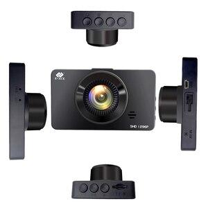 Image 2 - E ACE מיני דאש Camara וידאו מקליט רכב Dvr קול Contro מלא HD 1296 P 3.0 Inch Dashcam האוטומטי Registrator קרוב ראיית כפולה עדשה