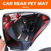 1470x1370mm Pet Seat Cover Waterproof Car Rear Back Carrier Dog Cat Mat without Zipper