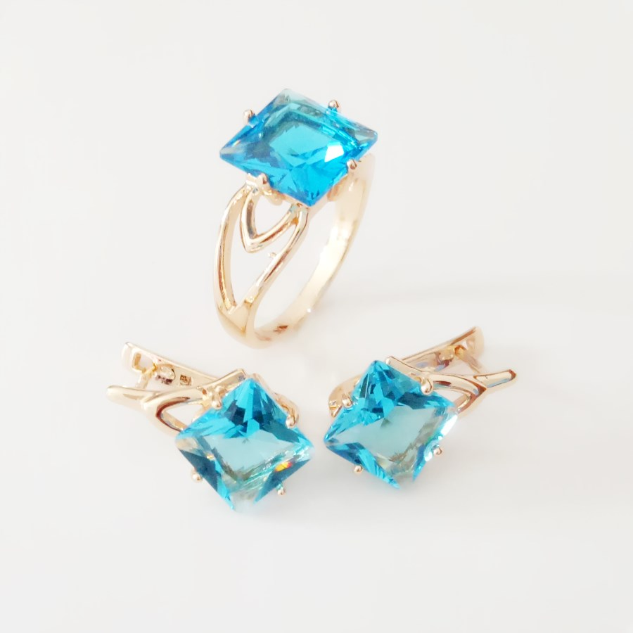 Women Jewelry Sets 585 Rose...