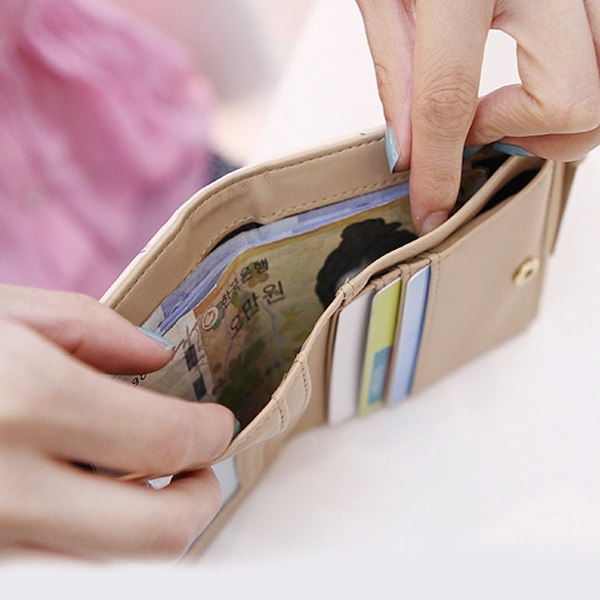 Vintage Cat Print Women's Wallets