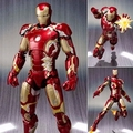 Avengers Age of Ultron s.H Figuarts homem de ferro Mark 43 PVC Action Figure Collectible modelo Toy 15 cm