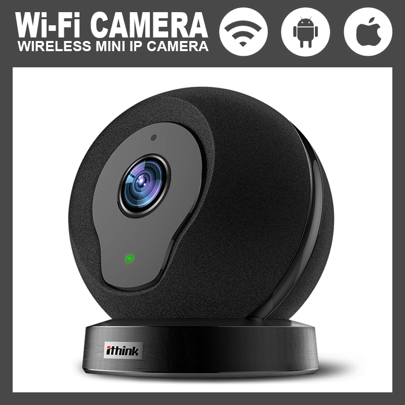 Home security intelligent web camera HD 720P wireless application control 110 degrees 32GB for IOS / Android phone web application architecture principles protocols and practices