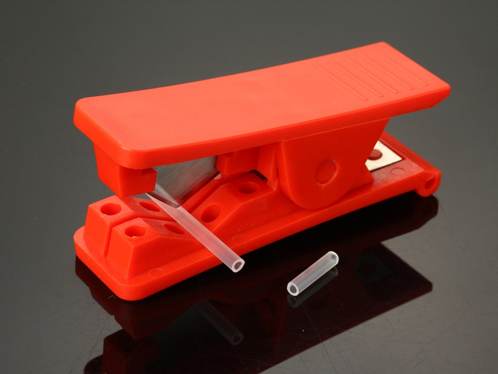 Plastic Tube Cutter For Tying Tubes Flies Including One Spare Blade