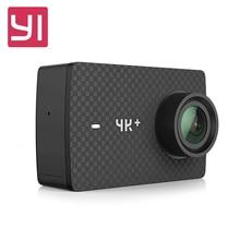 Оригинальный Yi 4 К ПЛЮС Действие Камера 2.19 'Ambarella H2 для Sony imx377 12MP 155 градусов 4 К Ультра HD Yi 4 К + Спорт действий Камера