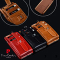 """2016 Pierre Cardin For iPhone 6/6s 4.7"""" 6/6s Plus 5.5"""" Genuine Leather Credit Card Bag Pouch Wallet Card Hard Back Case Cover"""