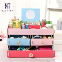 Wooden Storage Box Jewelry Storage Boxes for Home Decoration Drawer Storage Box Organizer Saving Space