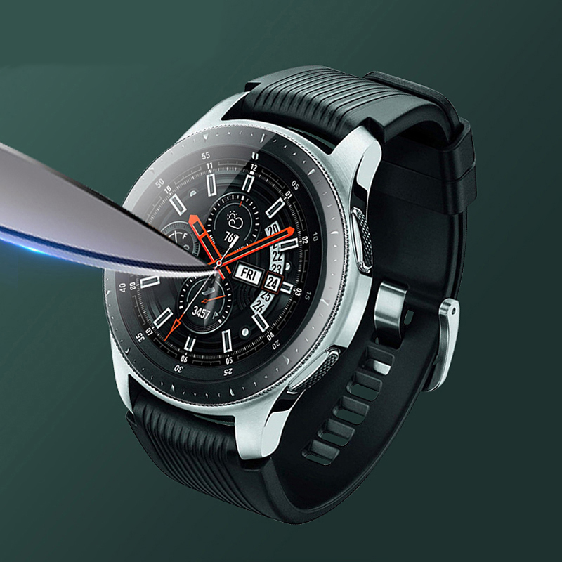 Tempered Glass For Samsung Gear S3 S2 Classic Frontier Band Galaxy Watch 46mm Smart Watch 9H Screen Protector Film Accessoeris