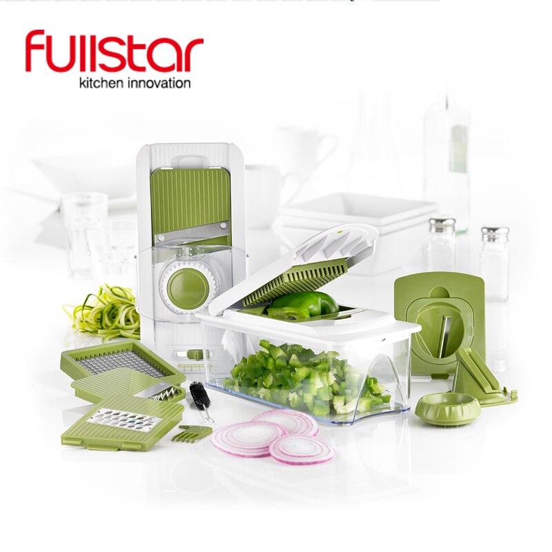Fullstar madoline slicer cozinha ferramentas vegetal helicóptero