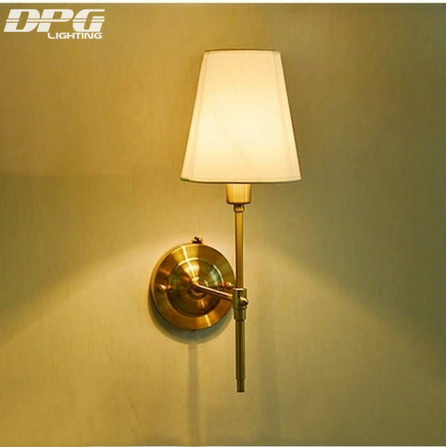 Led Modern gold Iron wall light indoor lighting wall sconces with ...